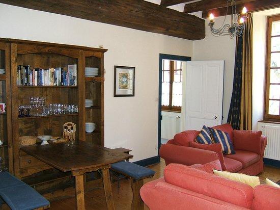 La Maison Aubelle : Tour living room