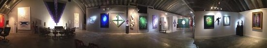 The Sculpture Ranch and Galleries: Gallery panorama