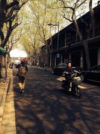 Former French Concession: Lovely day