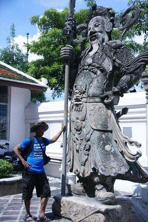 Wat Pho (Tempel des liegenden Buddha): Enternce to Wat Pho
