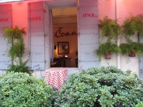 la terrasse du restaurant Xa