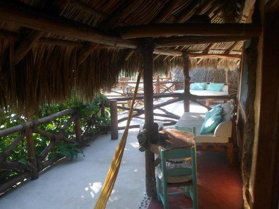 Holbox Hotel Mawimbi: Terrasse