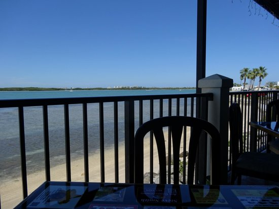 Chuck's Restaurant: view from my table