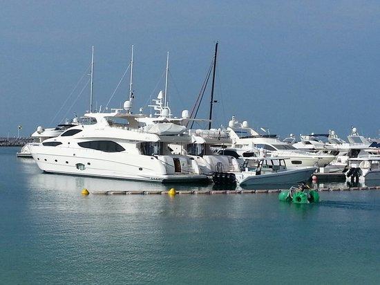 """Jumeirah Beach Hotel: Marina and """"personal watercraft"""""""