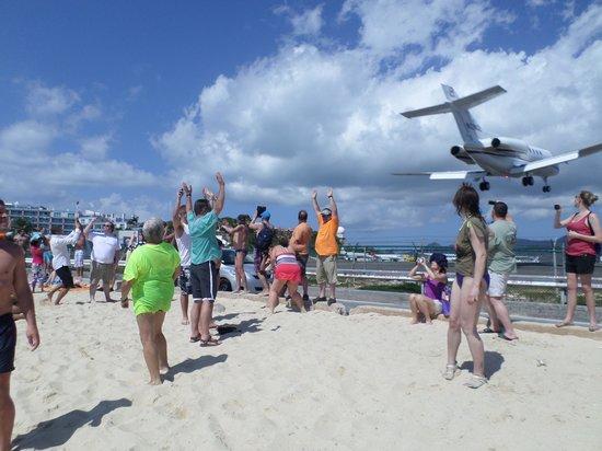 Bernard's Tours: Maho Beach