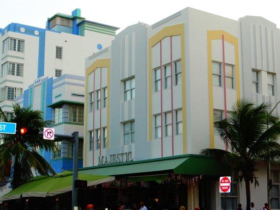 Art Deco Historic District: très beau quartier art district