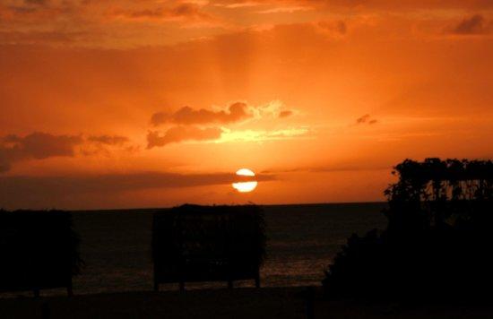 Keyonna Beach Resort Antigua: Sunset at Keyonna