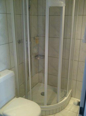 Hotel Löwen am See Zug: shower