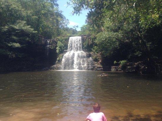 Khlong Chao Waterfalls: Klong Chao Water Fall (April 2014)