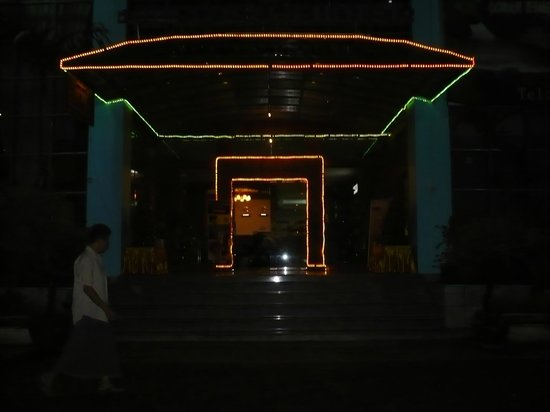 City Hotel Yangon: entree en 2008