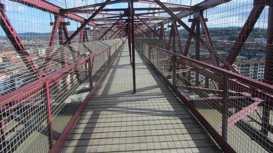 Vizcaya Bridge: Vista della passerella