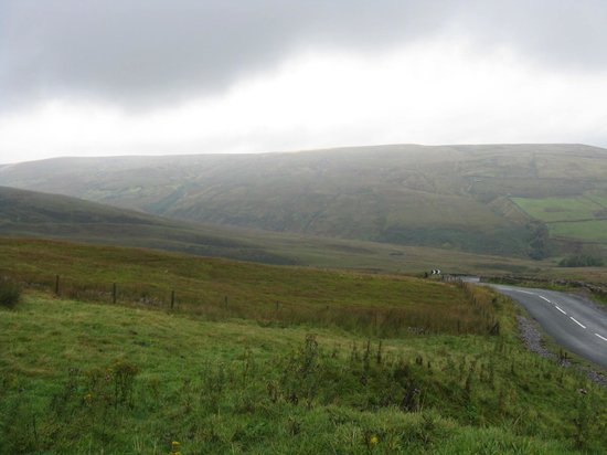 Yorkshire Dales National Park, UK: weather changes quickly
