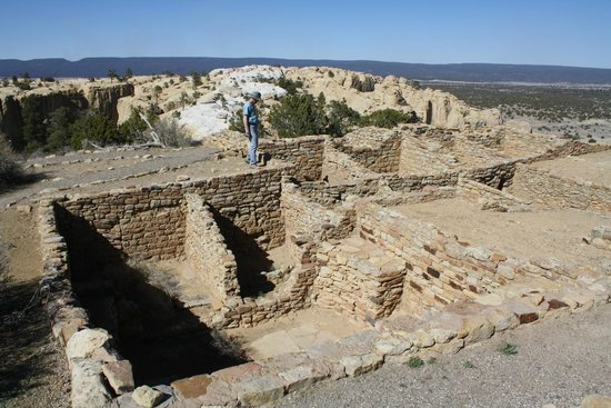 El Morro National Monument: Atsinna Ruins