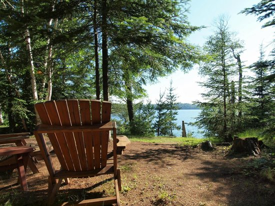 Tuscarora Lodge and Canoe Outfitters: Cabin 6 view