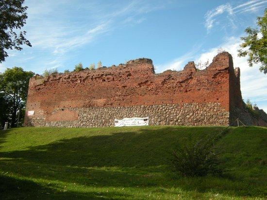 Czaplinek, Polen: Zamek Drahim
