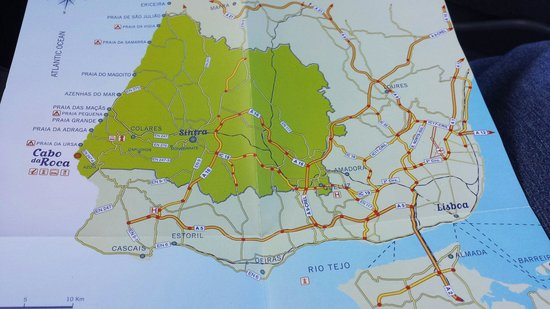 Cabo da Roca: Map