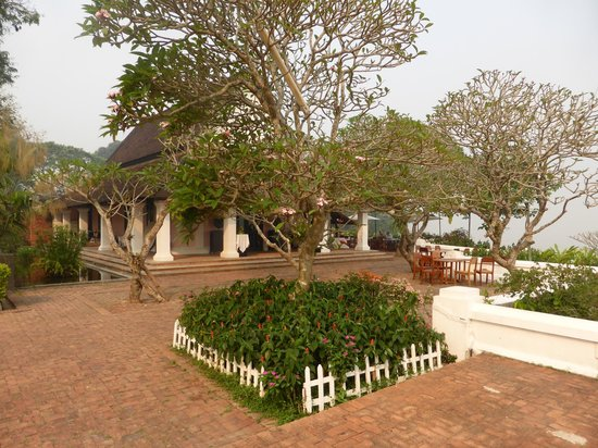 The Grand Luang Prabang Hotel & Resort : The restaurant
