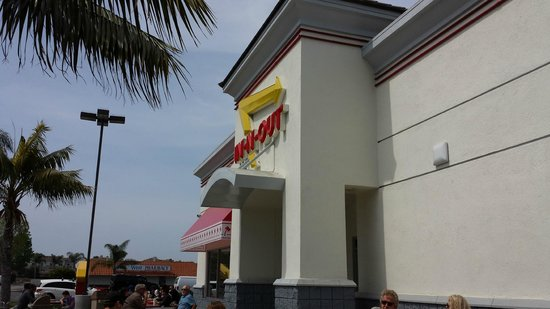 In N Out Burger Huntington Beach