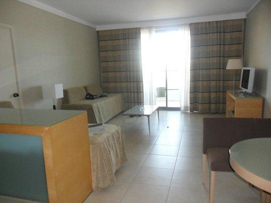 Rodos Palace: Salon de la chambre