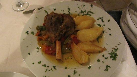 Naoussa Restaurant: Plat 1