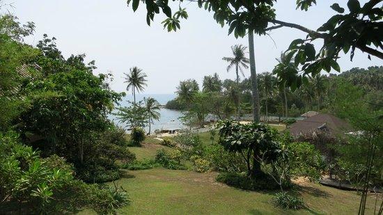 Shantaa Koh Kood : Utsikten över trädgården