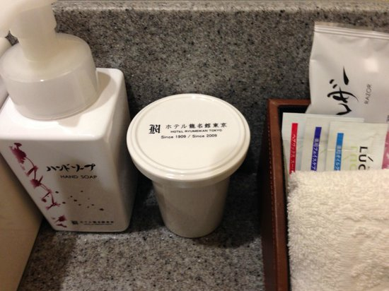 Hotel Ryumeikan Tokyo: Hand soap.