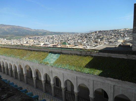 Palais El Mokri : Très belle vue sur Fes, de la terrasse