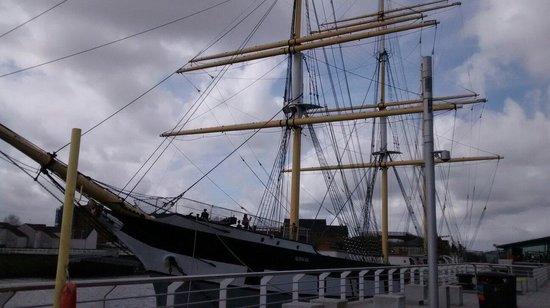 The Tall Ship at Riverside: External view