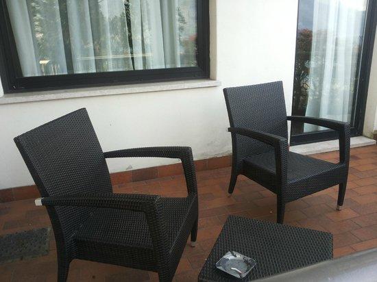 Clarion Collection Hotel Griso Lecco: Il terrazzino