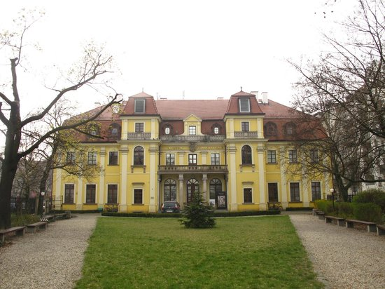 Ethnographic Museum: The view from the front lawn