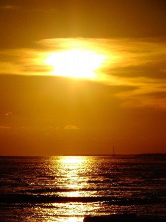 Sunset Pier: magnifique coucher de soleil
