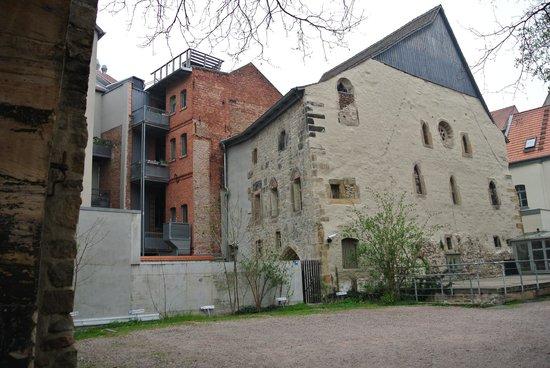 Alte Synagoge: Hinterhof Synagoge
