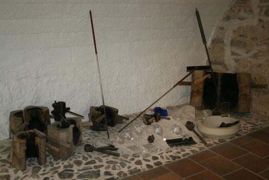 Moser Glass: Исторические инструменты для изготовления изделий из стекла