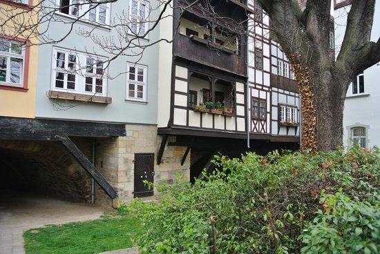 Krämerbrücke: Die Gera