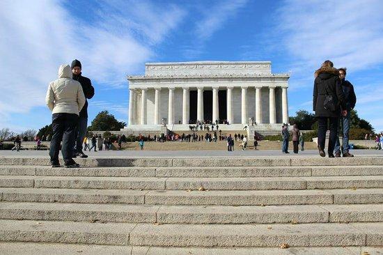 Piscina reflectante del monumento a Lincoln: The memorial