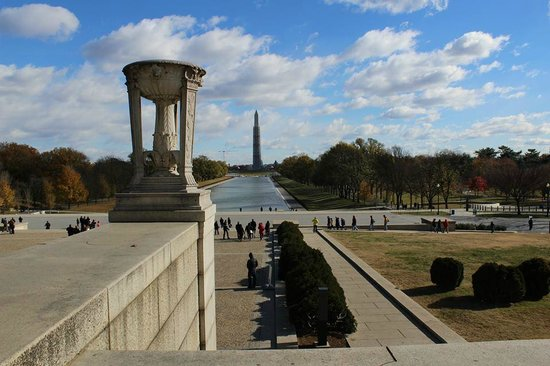 Lincoln Memorial : Facing the Reflecting pool