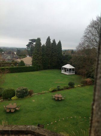 The Mount Hotel: View over the grounds