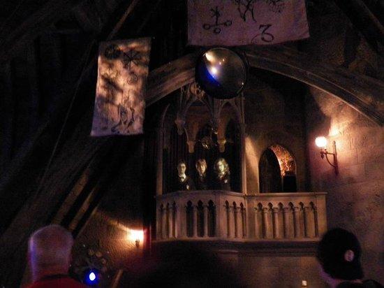 The Wizarding World of Harry Potter: Dentro del castillo