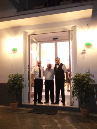Hotel Club Sorrento : Friendly Staff