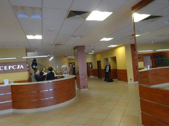 Hotel Wyspianski : Reception