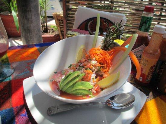 La Chatita Restaurant & Bar: ceviche de cameron