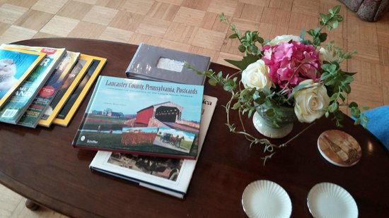 After Eight Bed & Breakfast: local books to browse