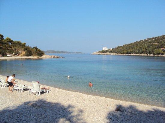 Hotel Vis: Пляж