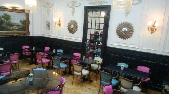 Hôtel Bradford Elysées - Astotel: salle petit déjeuner