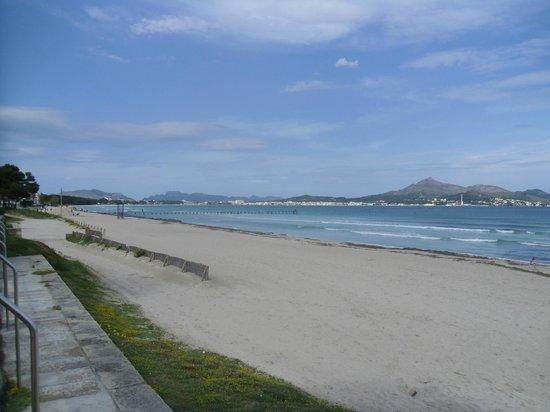IBEROSTAR Alcudia Park: Georgous beach (very safe for little ones)