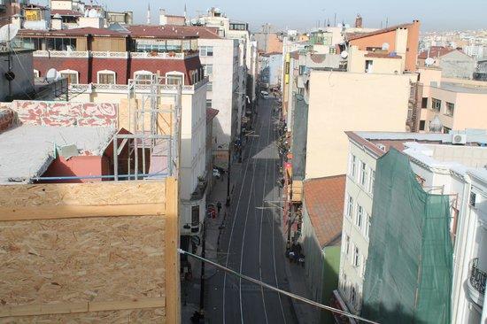 Blu Hotel Istanbul: Vue de la terasse