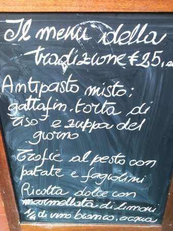 L'Articiocca: Traditional degustation Menù