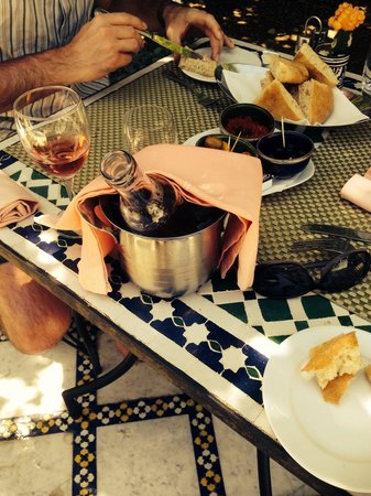 Palais Donab: Lunch