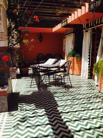Palais Donab: Terrace