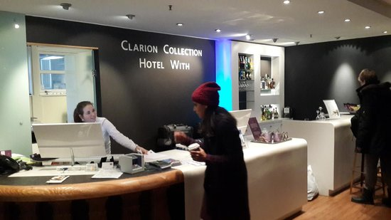 Clarion Collection Hotel With : Reception
